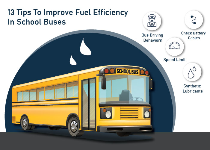 13 Tips To Improve Fuel Efficiency In School Buses