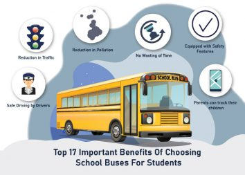 Top 17 Important Benefits of Choosing School Buses for Students