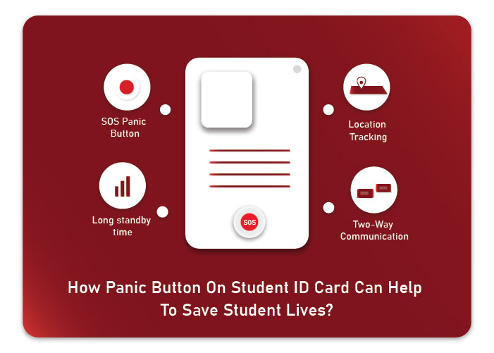 How Panic Button on Student ID Card Can Help To Save Student Lives?